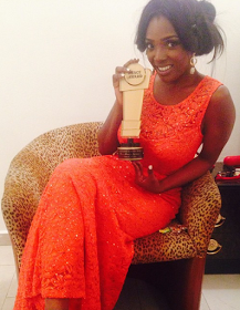 Annie Idibia Wins Peace Ambassador Award For Actress of the Year