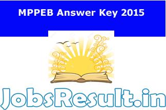 MPPEB Answer Key 2015