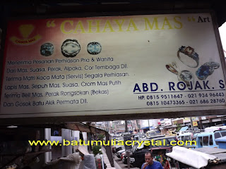 pengasahan batu mulia Kota Tangerang