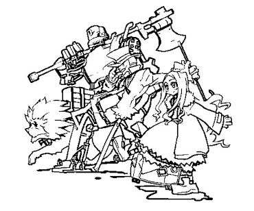#8 Wizard of Oz Coloring Page