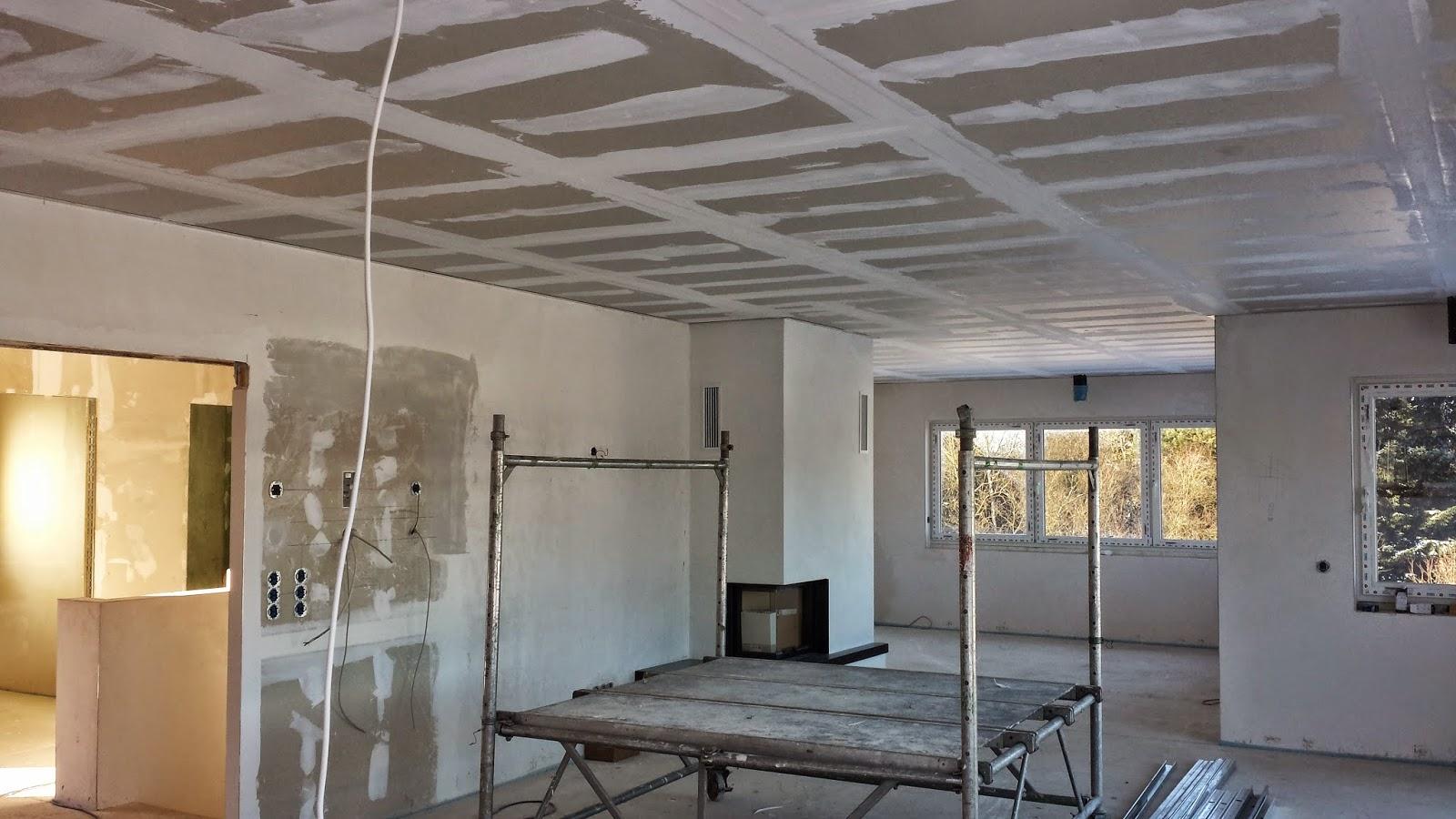 Rigipsdecke Risse : Unser Architektenhaus in AK: Dezember 2014