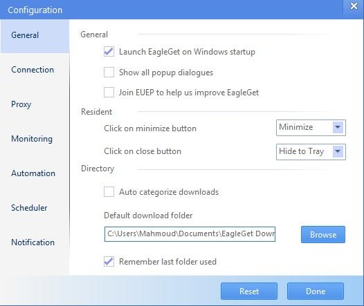 البرنامج الانترنتEagleGet,بوابة 2013 2.jpg