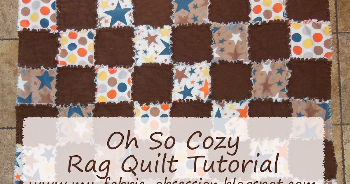 flannel rag quilt instructions