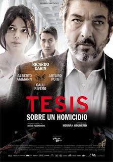 Tesis sobre un homicidio [2013] [NTSC/DVDR] [Final] Español Latino