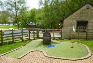Crazy Golf at Rutland Water Visitor Centre