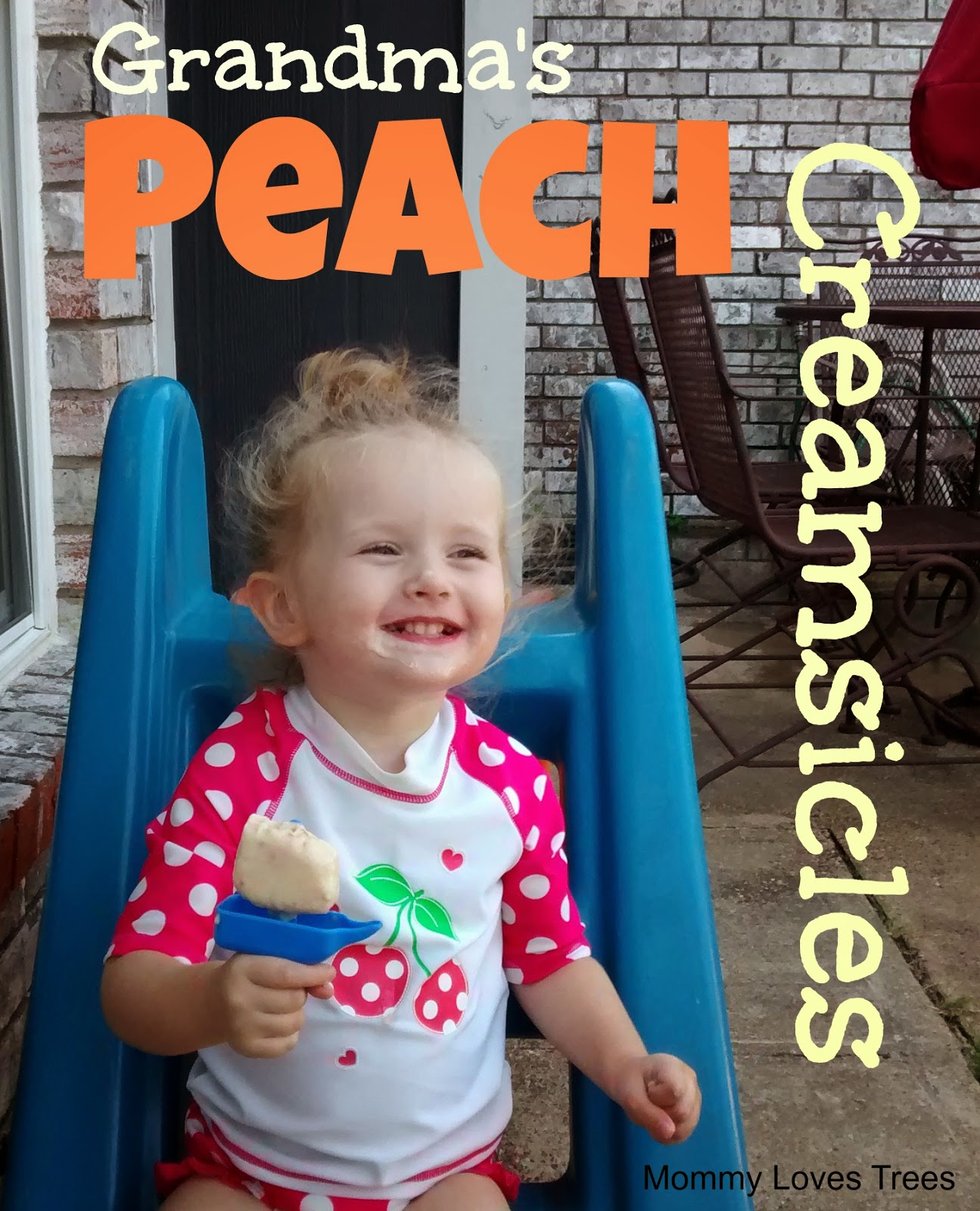 Grandma's Peach Creamsicles