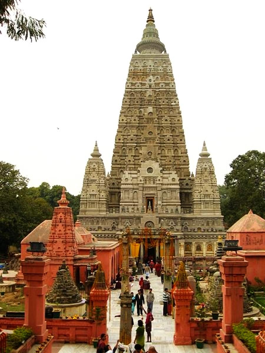 Bodh Gaya India  city photos gallery : The Nicest Pictures: Mahabodhi Temple, Bodh Gaya, India