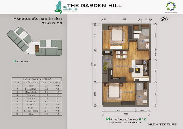 căn b10 chung cư the garden hill