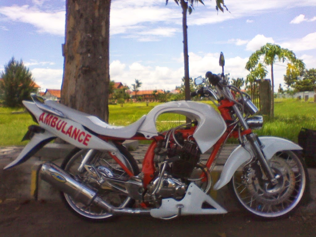 Modifikasi Motor Ninja RR