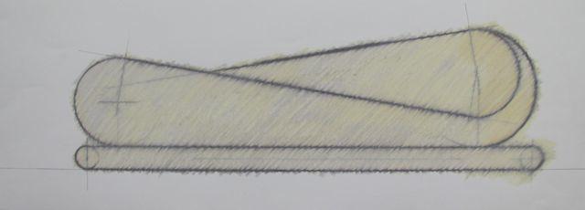 zt, 2000, 24 x 65 cm.