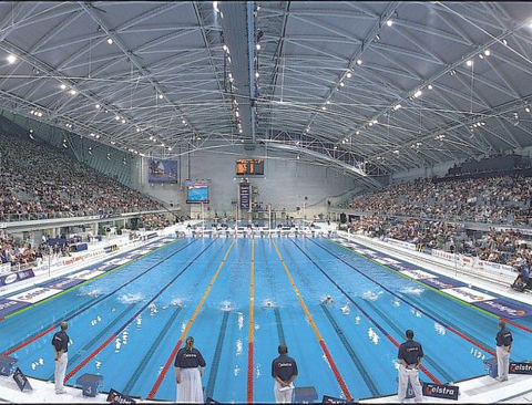Cold fusion guy imagining 14 million gallons of water 21 olympic pools of water for How deep is a olympic swimming pool