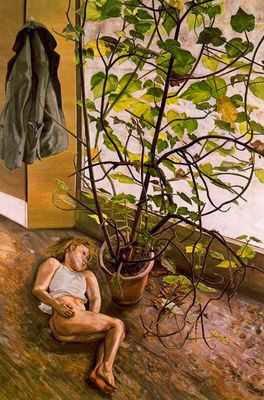 Lucien Freud - Espace intérieur Paddington,1968.