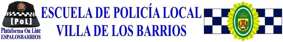 ESPALOSBARRIOS Escuela de Policía Local Villa de Los Barrios