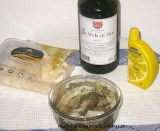 carpaccio di carciofi e raspadura lodigrana