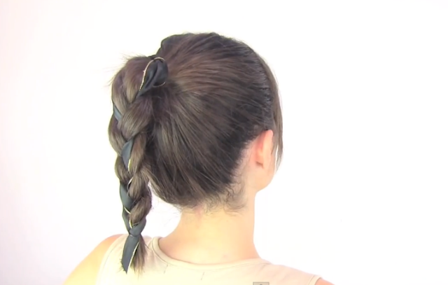 Peinado para niña Curso #4 (El corazon) YouTube
