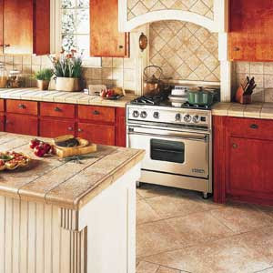 Easy home decor ideas different kitchen countertop for Kitchen ideas with porcelain countertops