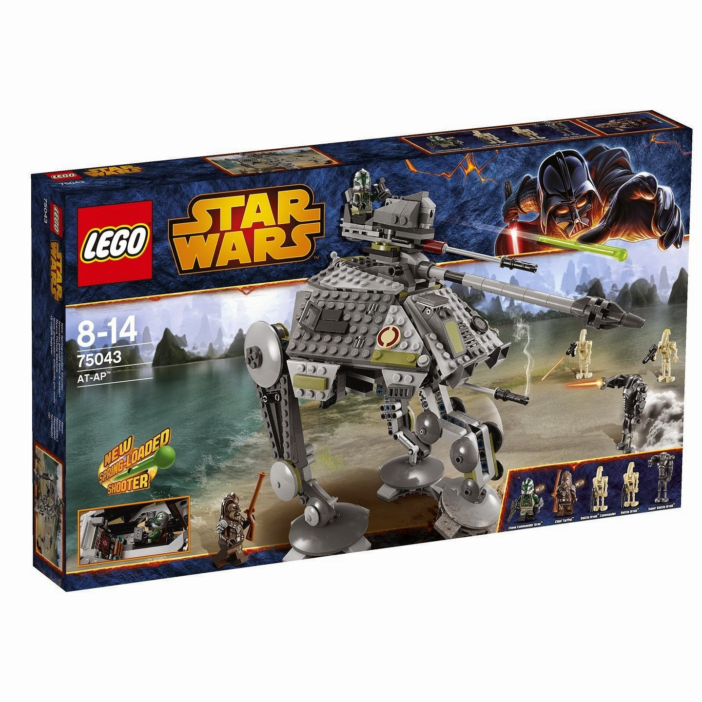 Caja Lego Star Wars AT-AP (75043)
