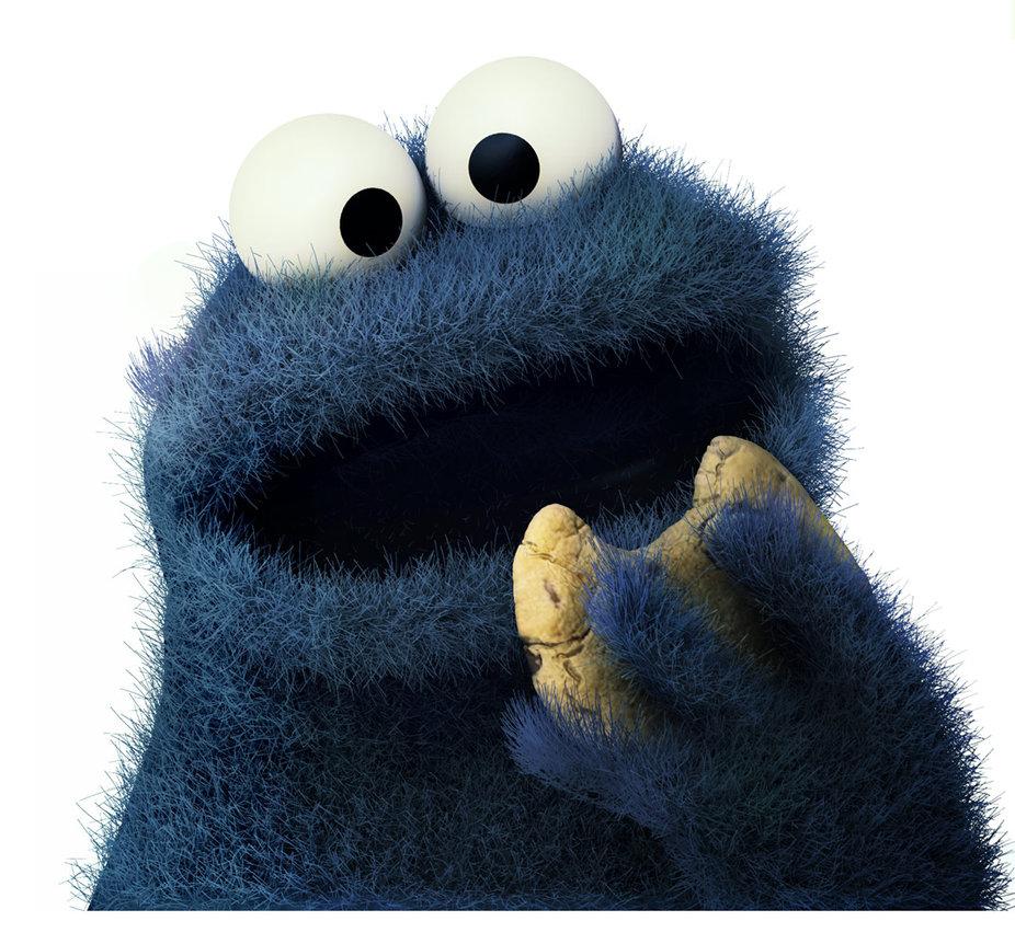 Hannabal Marie: Cookie Monster Inspired Makeup/Fingernails