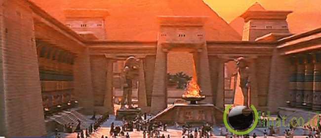 The Mummy hadirkan banyak bangunan bersejarah Mesir