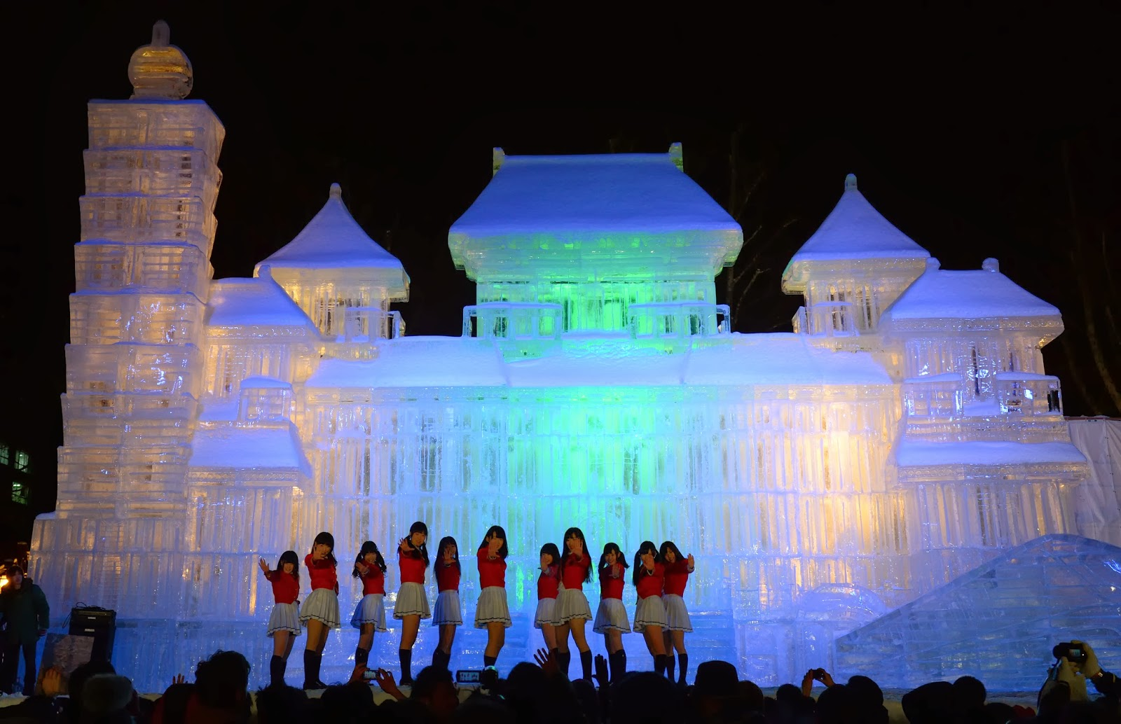 65th Annual, Sapporo, Snow Festival, Night, Lights, Color, Statue, Hokkaido, Exhibition, Tourism, Offbeat, Business, Creation, National Palace Museum, Places, Taipei, Tomb of Itmad-ud-Daula, Animation, Winter Sports Paradise, Art, Japan,