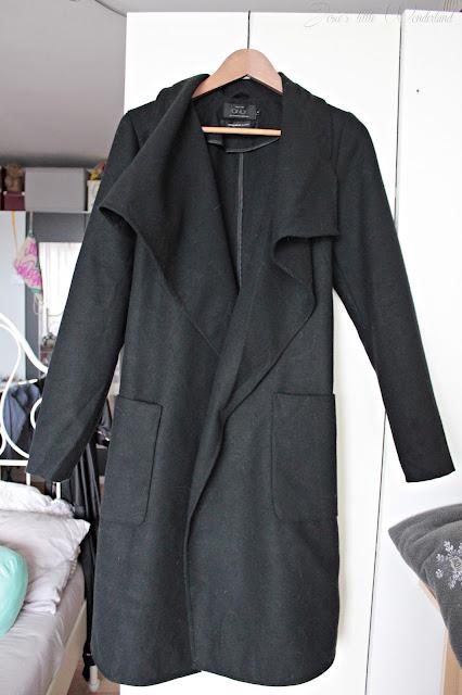 Fashion | Novemberausbeute, blog, shoppingausbeute, josie´s little wonderland, november, coat, black coat, vero moda, mantel