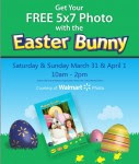 Free 5×7 Photo with Easter Bunny at Walmart