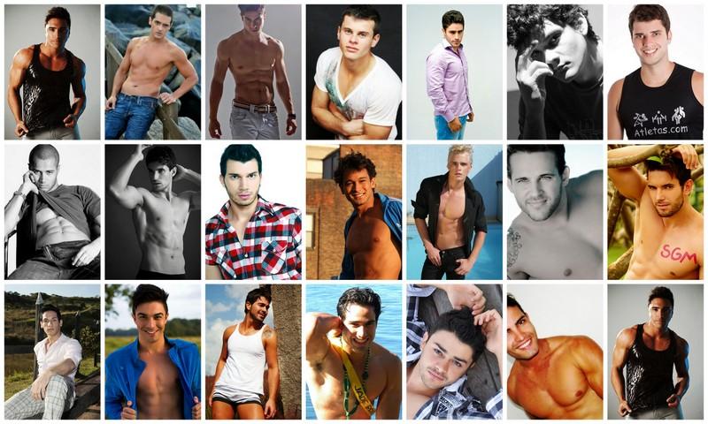 Candidatos ao título de Mister Brasil Mundial Universo 2012