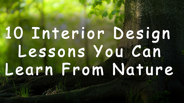 10 Interior Design Lessons You Can Learn From Nature