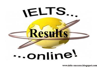 Online IELTS Results