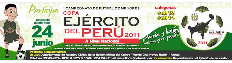 COPA EJERCITO DEL PERU