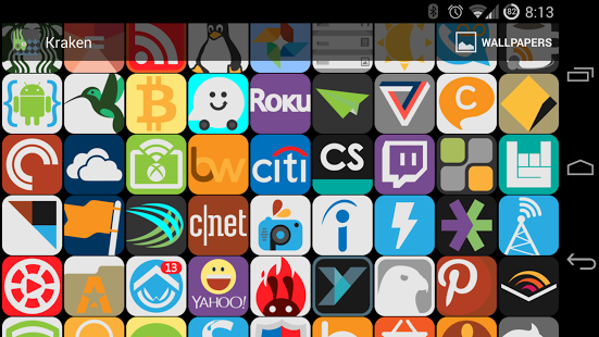 Download Kraken Icon Pack v1.01 apk