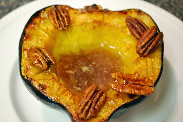 Classic Baked Acorn Squash | Bevy Richmond