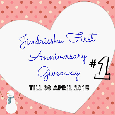 jindrisska,anniversary, giveaway, german,blog