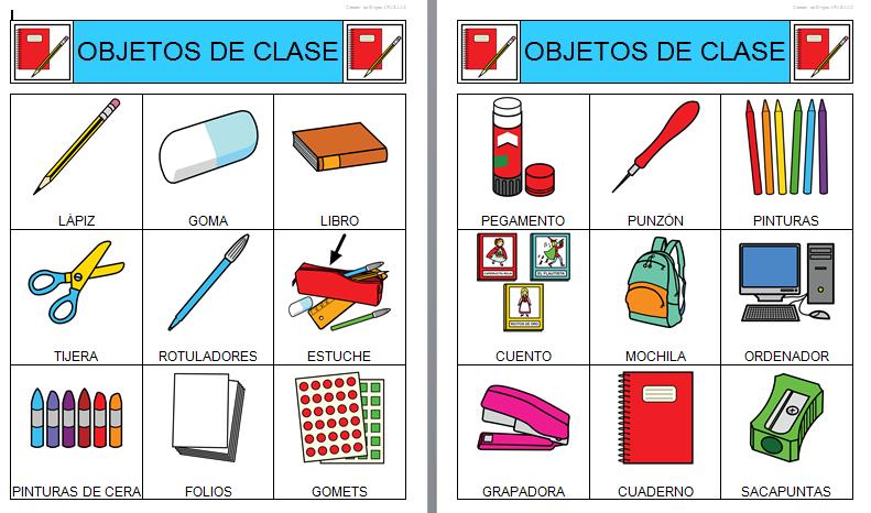 Dolores navas p rez u d colegio for 10 objetos en ingles del salon de clases