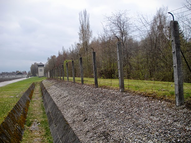 Dachau concentration camp in Munich, Germany