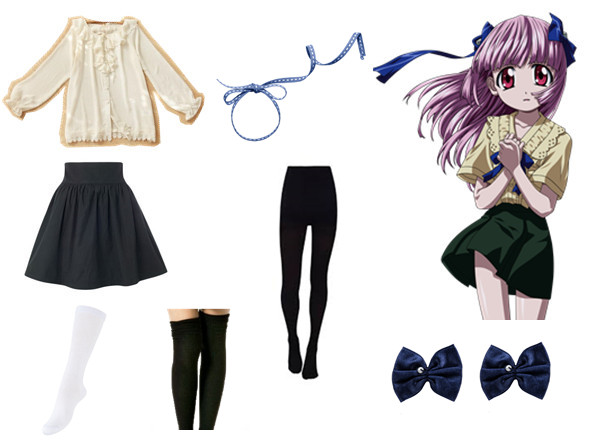 lucy elfen lied uniform