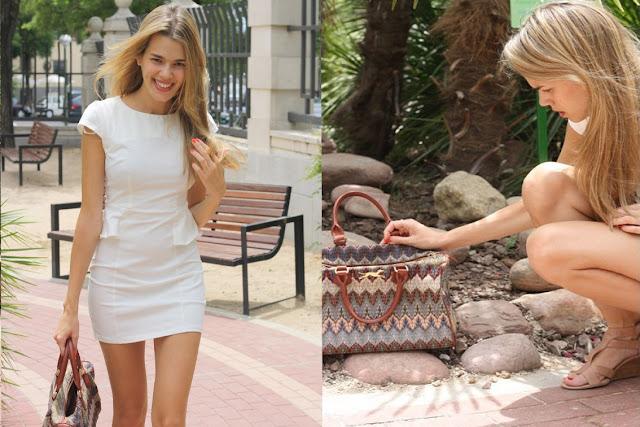Vestido peplum blogger Honeydressing