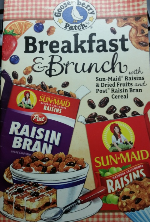 Gooseberry patch sunmaid breakfast & brunches cover