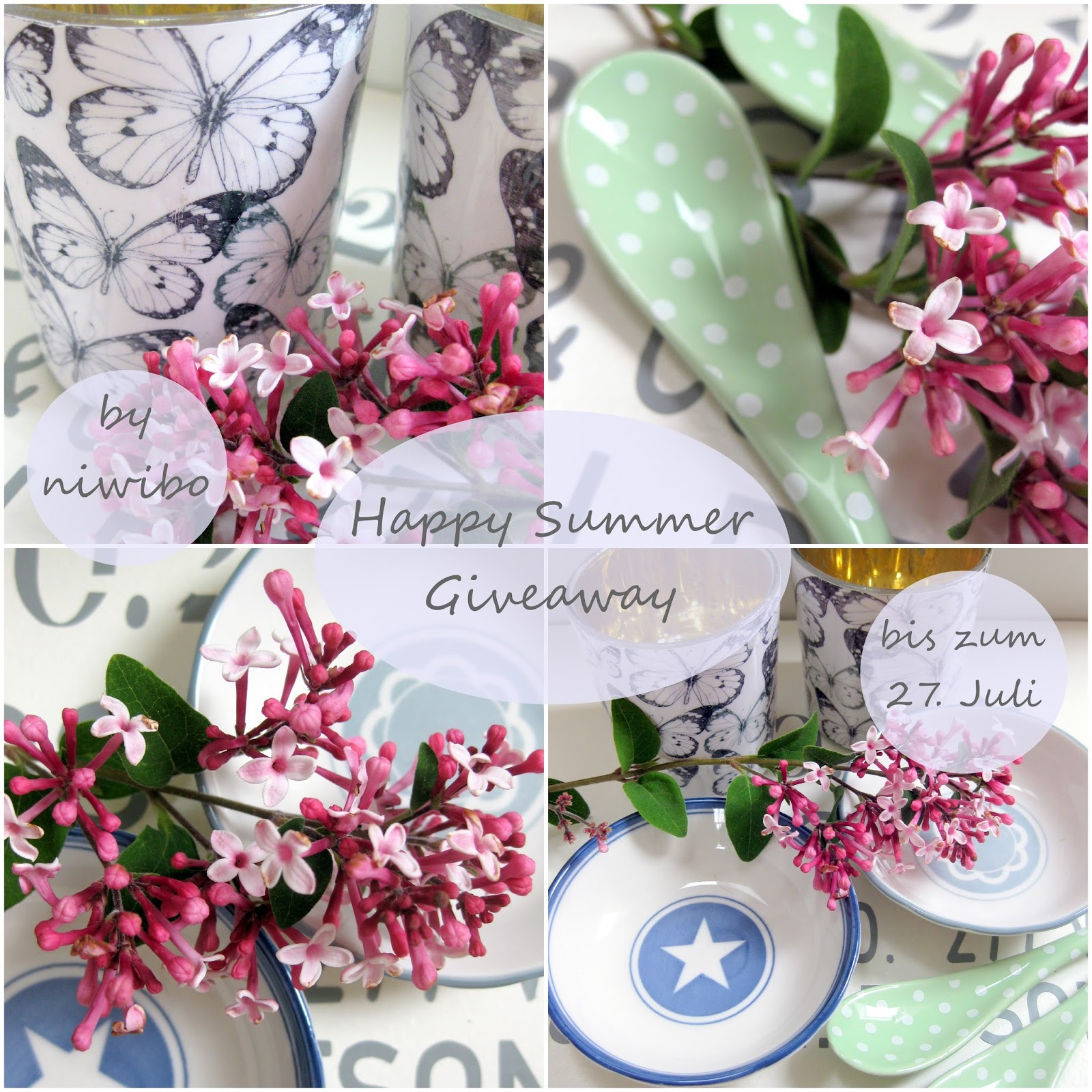 """Summer-Give-away bei Nicole von niwibo"