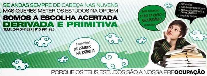 A Derivada & Primitiva - Centro de Estudos