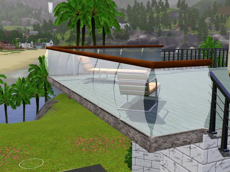 Cassia sims3 cerca de vidro para fachadas for Sims 4 balcony
