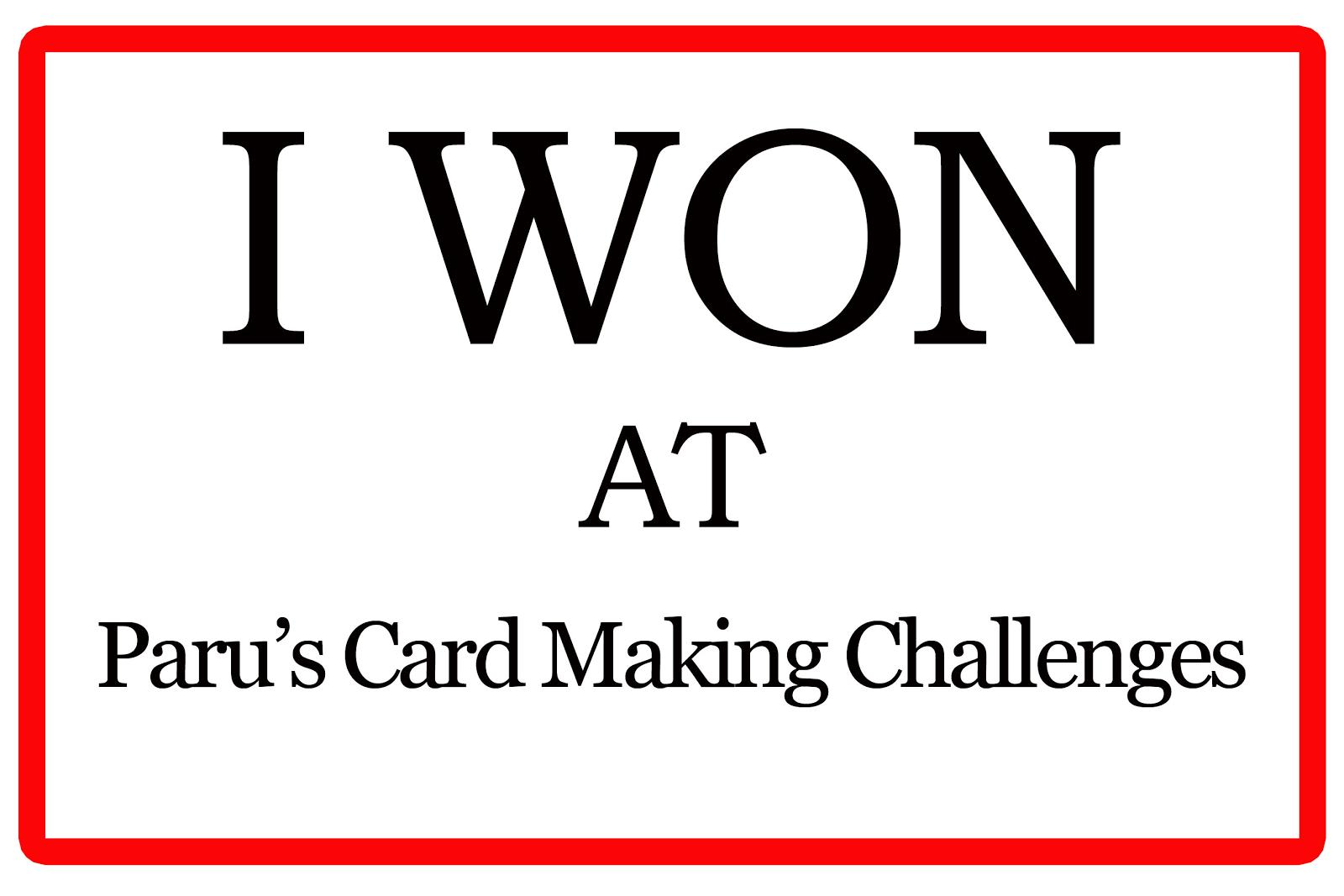 Paru's june challenge winner