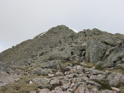 Cairn Toul East Ridge