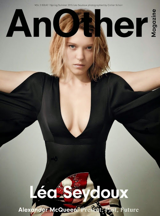 Actress, Soundtrack: Léa Seydoux - AnOther UK March 2015