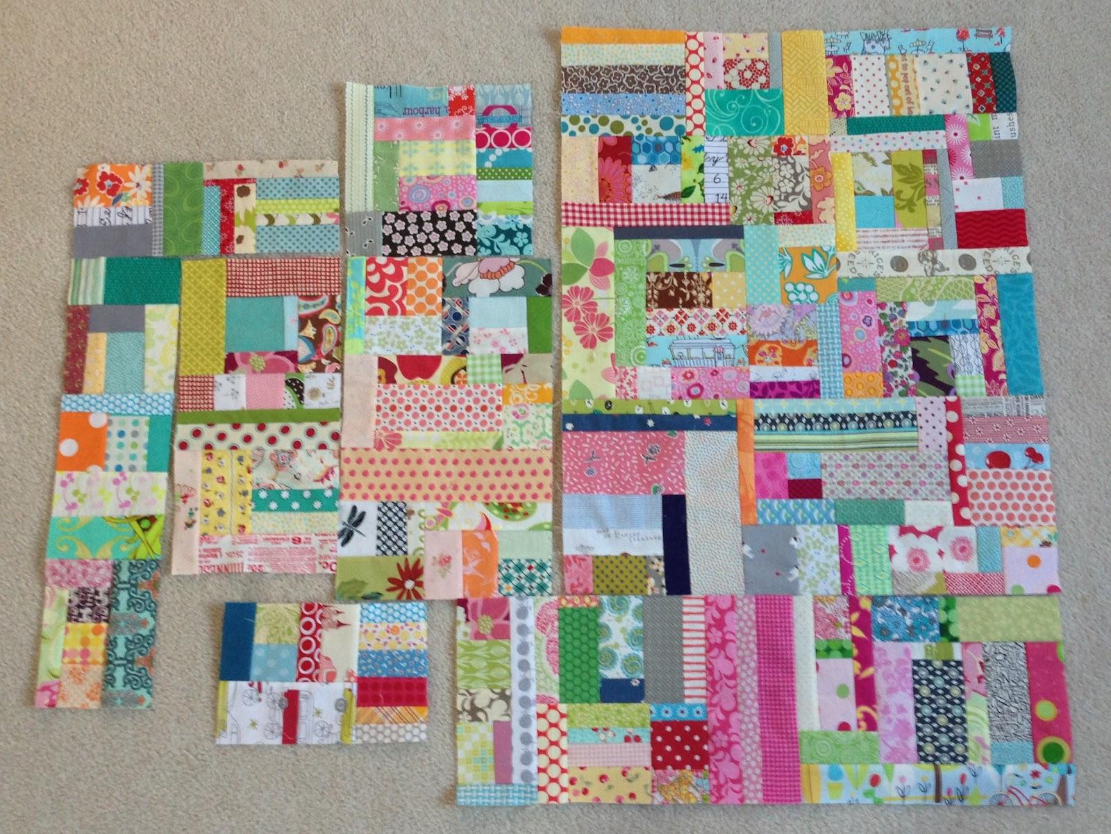Crazy mom quilts scraps for Scrap quilt