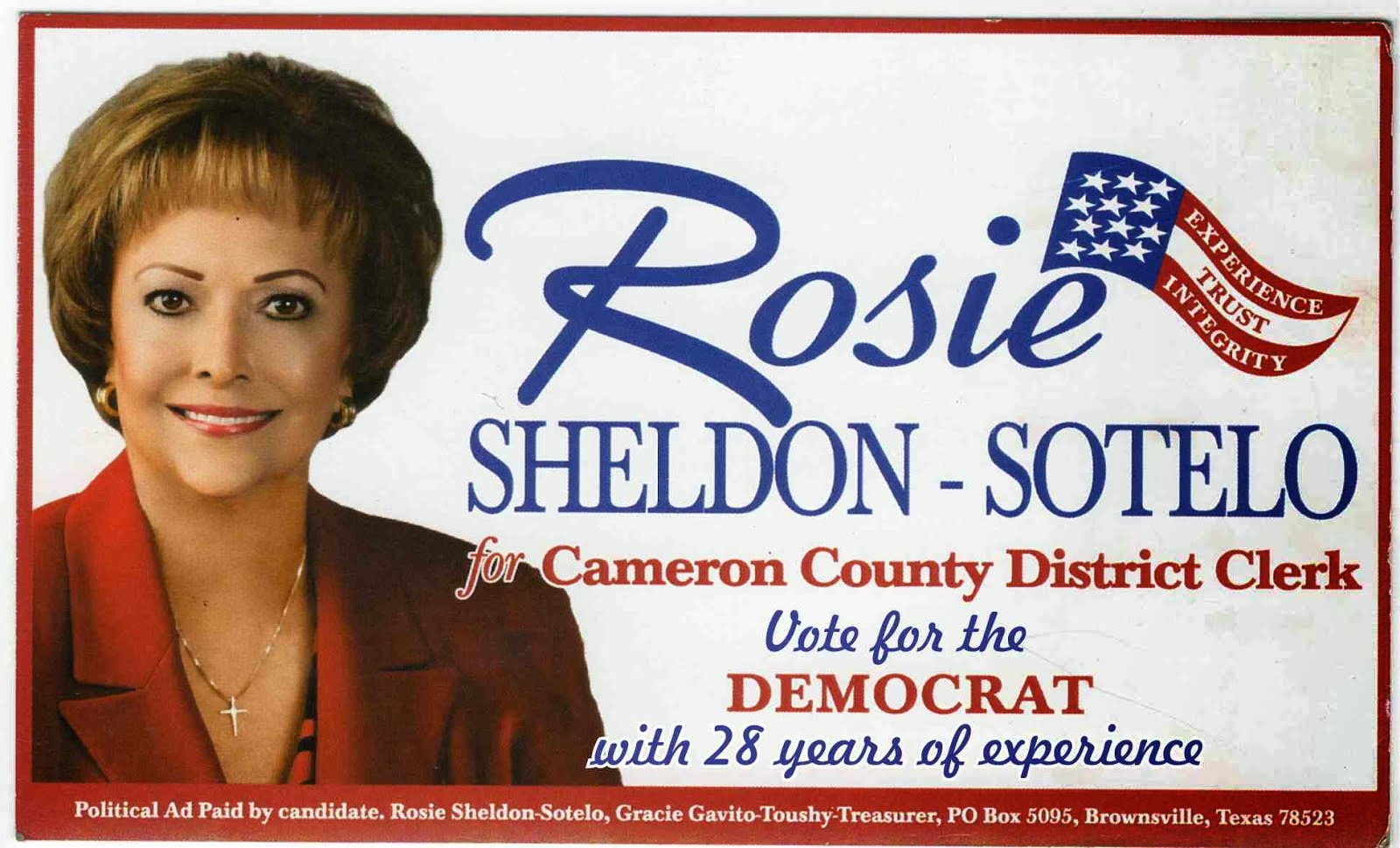 Rosie for District Clerk