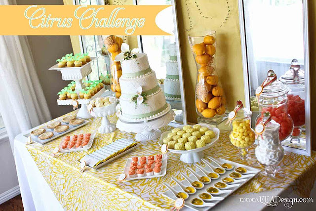 party feature goes to this stunning CITRUS THEMED WEDDING submitted by