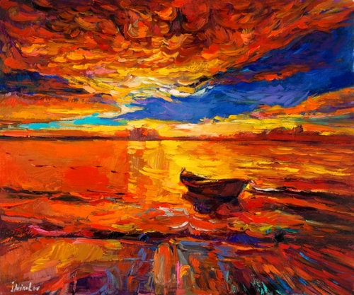 18-Ivailo Nikolovhas-Bright-Paintings-Modern-Impressionism-www-designstack-co