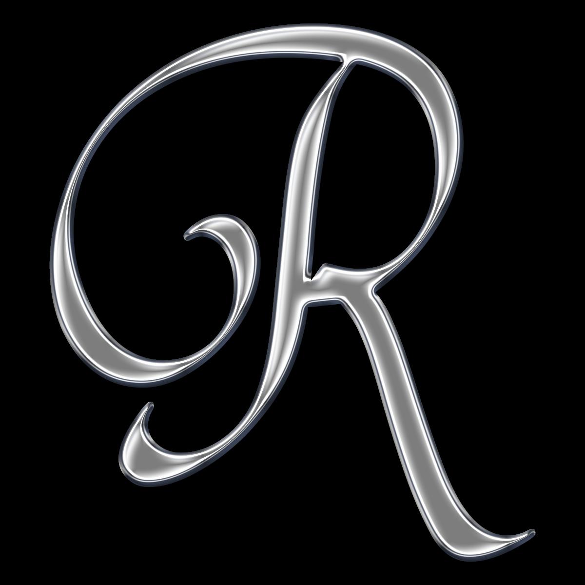 Letter R Fonts