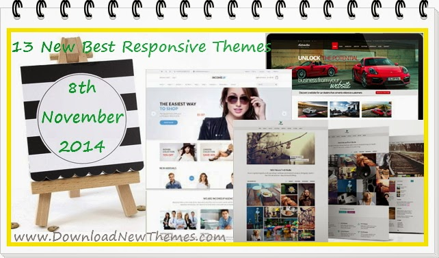 13 New Best Responsive Template